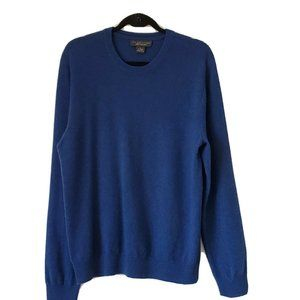 Bloomingdale's Men's Store Cashmere Blue Crew Neck